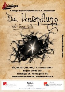 "Plakat ""Die Verwandlung"""