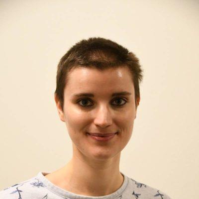 Laura Peikert spielte ein Ratsmitglied, einen Prügler und den Scharfrichter