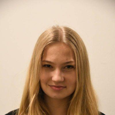Adina Bischoff spielte ein Ratsmitglied, einen Dänen und einen Prügler